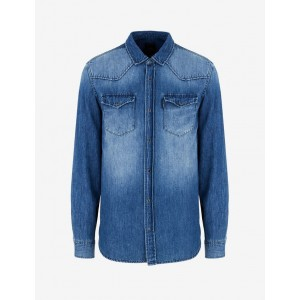 Armani Exchange DENIM SHIRT, Denim Shirt for Men | A|X Online Store
