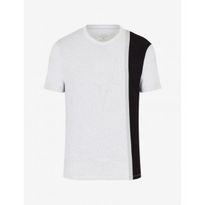 Armani Exchange TEE WITH CONTRASTING PRINT, Graphic T Shirt for Men | A|X Online Store