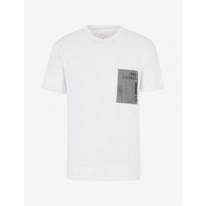 Armani Exchange REFLECTIVE PATCH TEE, Graphic T Shirt for Men | A|X Online Store