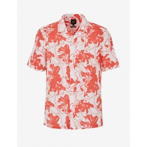 Armani Exchange COTTON VOILE PATTERNED SHIRT, Printed Shirt for Men | A|X Online Store