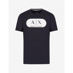 Armani Exchange SLIM FIT T SHIRT, Logo T Shirt for Men | A|X Online Store