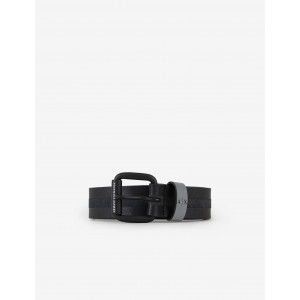 Armani Exchange LEATHER BELT MADE IN ITALY, Belt for Men | A|X Online Store