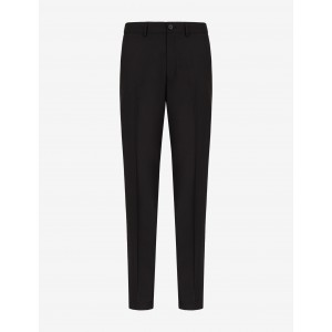 Armani Exchange CLASSIC PANTS WITH PRESSED CREASE, Chino for Men | A|X Online Store