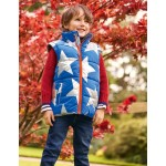 Cosy 2-in-1 Padded Jacket - Brilliant Blue Metallic Star