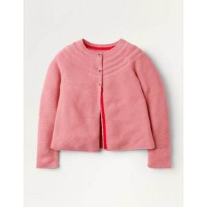 Cotton Cashmere Mix Cardigan - Formica Pink