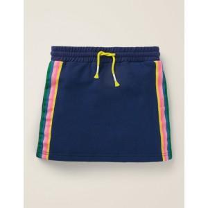 Cosy Sweatshirt Skirt - College Navy