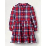 Woven Shirt Dress - Rockabilly Red Check