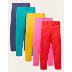 5-Pack Leggings - Multi Rainbow