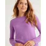 Cashmere Crew Neck Sweater - Lupin