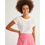 Polly Silk T-Shirt - Ivory