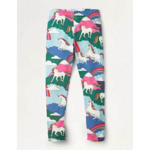 Fun Leggings - Multi Unicorn Mountain