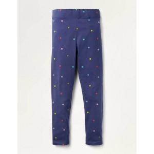 Fun Leggings - Starboard Blue Confetti Spot