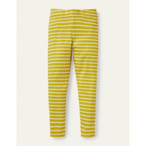 Fun Leggings - Sweetcorn Yellow/ Ivory