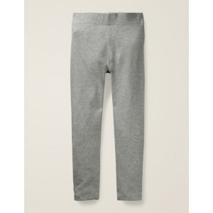 Plain Leggings - Grey Marl
