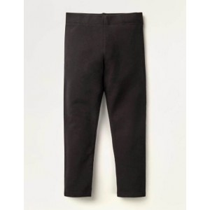 Plain Cosy Leggings - Black