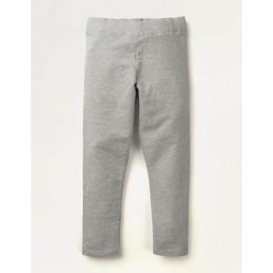Plain Cosy Leggings - Grey Marl