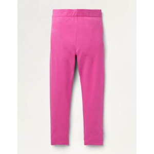 Plain Cosy Leggings - Tickled Pink