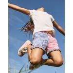 Frill Hem Shorts - Hotchpotch Gingham
