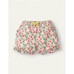 Frill Hem Shorts - Boto Pink Strawberry Ditsy