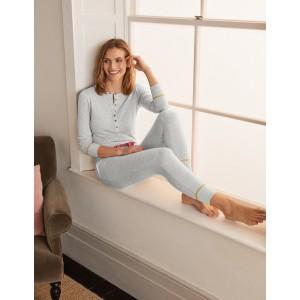 Alba Jersey Pajama Bottoms - Grey Marl