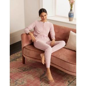 Alba Jersey Pajama Bottoms - Milkshake