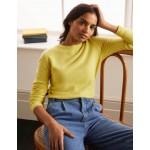 Cashmere Crew Neck Sweater - Pineapple