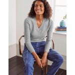 Oakley Cashmere V-Neck Sweater - Grey Melange