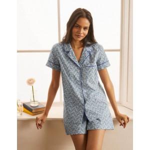 Phoebe PJ Shirt - Ivory, Pretty Paisely