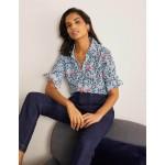 Silk Shirt - Surf, Parrot Paradise