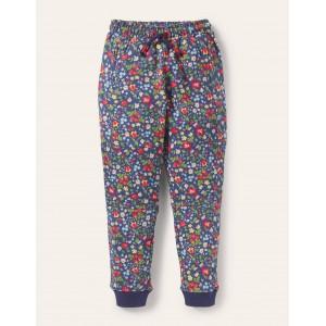 Warrior Knee Sweatpants - Starboard Autumn Berry Floral