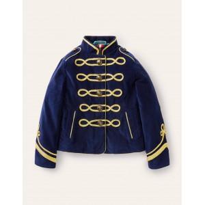 Trim Detail Jacket - College Navy