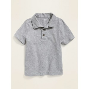 Jersey Short-Sleeve Polo for Toddler Boys