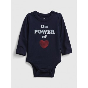 Baby Power Of Love Graphic Bodysuit