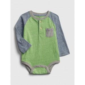 Baby Henley Bodysuit