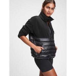 GapFit Fleece Puffer Jacket