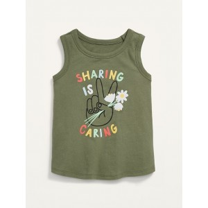 Graphic Tank Top for Toddler Girls