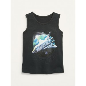 Graphic Tank Top for Toddler Boys