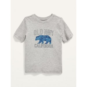 Short-Sleeve Logo-Graphic Tee for Toddler Boys