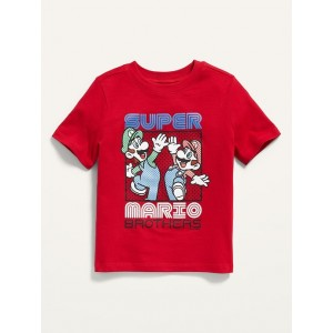 Unisex Super Mario Brothers Graphic Tee for Toddler