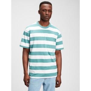 The Gen Good Stripe Pocket T-Shirt