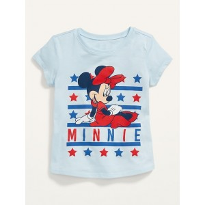 Disneyⓒ Minnie Mouse Americana Tee for Toddler Girls