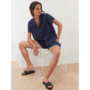 Petite Tencel Relaxed Shirt