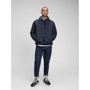 Snap-Front Puffer Jacket
