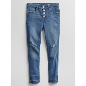 Kids Skinny Ankle Legging Jeans with Stretch
