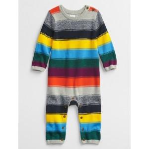 Baby Happy Stripe One-Piece