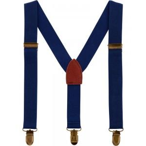 Dark Blue Suspenders