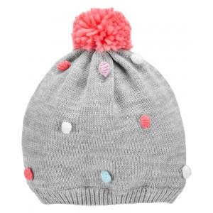 Pom Pom Knit Hat