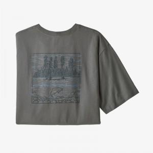 Mens Wild Home Waters Organic Cotton T-Shirt