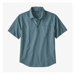 Mens Organic Cotton Seersucker Pullover Shirt