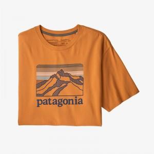 Mens Line Logo Ridge ROC Pilot Cotton T-shirt